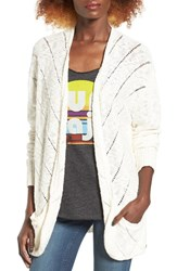 Roxy Women's Waiting On You Ladder Stitch Cardigan