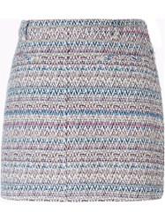 Thakoon Woven Mini Skirt Multicolour