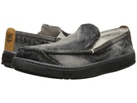 Timberland Earthkeepers Hookset Handcrafted Fabric Slip On Black Washed Denim Men's Shoes Gray