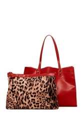 Urban Expressions Jacquelyn Tote Red