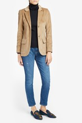 Paul Joe Women S Otexas Corduroy Blazer Boutique1 Beige