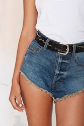 Nasty Gal Lenny Perforated Belt
