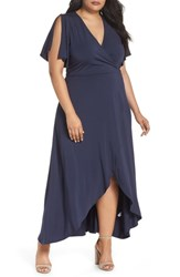 Tart Plus Size Nolan Maxi Dress Black Iris