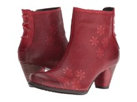 Spring Step Teca Red Women's Dress Boots