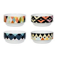 Magpie Viva Dishes Set Of 4