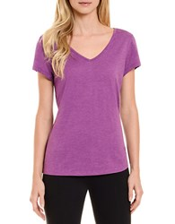 Danskin Solid Sleep Tee Bright Violet