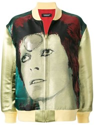 Undercover Bowie Bomber Jacket Green