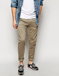 New Look Skinny Fit Chinos Stone