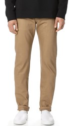 Naked And Famous Selvedge Weird Guy Jeans Beige