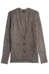 Etro Cardigan With Cashmere And Silk Multicolor