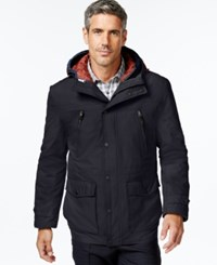 London Fog Big And Tall 3 In 1 Anorak Navy