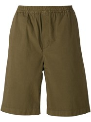 Msgm Bermuda Shorts Green