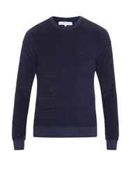 Orlebar Brown Pierce Cotton Jersey Sweatshirt Navy