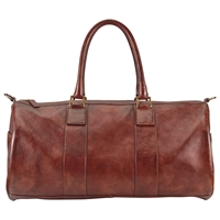 John Lewis Gladstone Leather Barrel Bag Antique Tan