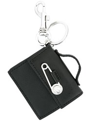 Versus Purse Keyring Black
