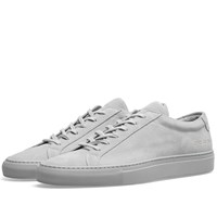 Common Projects Original Achilles Low Suede Grey