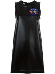 Love Moschino Chest Patch Shift Dress Blue