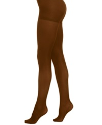 Berkshire Luxe Opaque Control Top Hosiery Chocolate