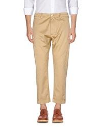 People 3 4 Length Shorts Sand