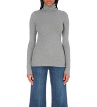 J Brand Centro Stretch Cotton Jumper Charcoal