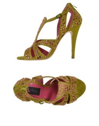 John Richmond Sandals Military Green