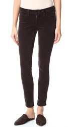 L'agence Chantal Low Rise Skinny Pants Lead