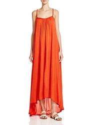 Boho Me Braided Back Maxi Dress Swim Cover Up Scarlet