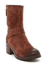 Manas Design Suede Mid Calf Boot Brown