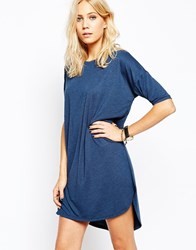 Just Female Egypt T Shirt Dress In Skydiver