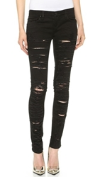 Blank Ripped Skinny Jeans Black