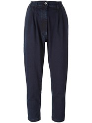 Marios Baggy Trousers Blue