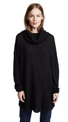 M.Patmos Arianne Cashmere Funnel Neck Pullover Black