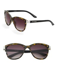Steve Madden 51Mm Wayfarer Sunglasses Brown