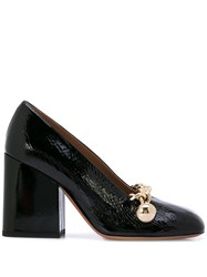 Marni Chain Detail Pumps Black