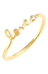 Shy By Se 'S 'Love' Ring