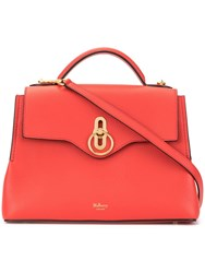 Mulberry Small Seaton Tote Bag Red