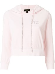 Juicy Couture Embellished Hoodie Pink And Purple