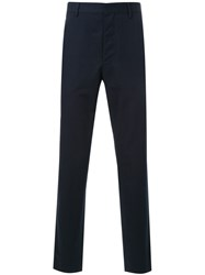 Christophe Lemaire Suit Trousers Blue