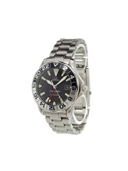 Omega 'Seamaster 50Th Anniversary Gmt' Analog Watch Stainless Steel
