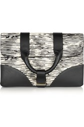 Jason Wu Hanne Printed Leather Clutch
