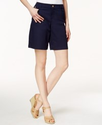 Charter Club 7' Twill Shorts Only At Macy's Intrepid Blue