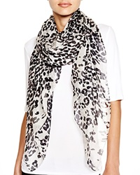 Helene Berman Animal Print Square Scarf