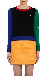 Lisa Perry Women's Colorblocked Cashmere Sweater No Color