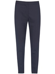 French Connection Summer Talulah Tapered Trousers Utility Blue