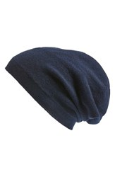 Nordstrom Men's Men's Shop Cashmere Beanie Blue Navy