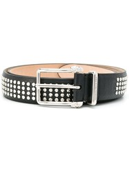 Alexander Mcqueen Studded Belt Black