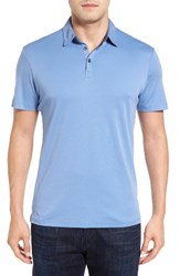 Robert Barakett Men's Batiste Pima Cotton Polo English Manor