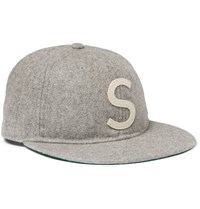 Saturdays Surf Nyc Wool Baseball Cap Gray