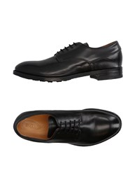 Buttero Footwear Lace Up Shoes Black