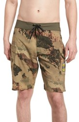 Volcom Primo Beer Board Shorts Camouflage